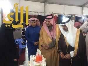 خيمة التسوق تبدأ مع انطلاقة عام 2018 ضمن فعاليات مهرجان فرحة بقيق