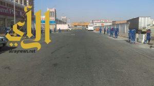 بلدية وسط الدمام: 60 رجل نظافة يشاركون في حملة نظافة شاملة تستمر ثلاثة أسابيع
