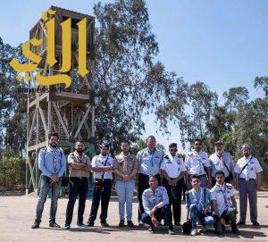 كشافة المملكة تبدأ مشاركتها في دورة الملاحة والأرصاد الجوية بالإسكندرية