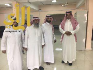 وكيل جامعة الأمير سطام بن عبدالعزيز للفروع يلتقي محافظ السليل