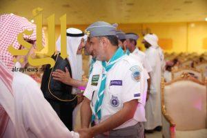 جمعية الكشافة تًشارك في الاحتفاء بمدير التعليم الأسبق بوادي الدواسر