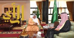 أمير تبوك يطلع على تقرير أعمال فرع وزارة الزراعة بالمنطقة