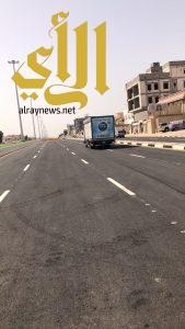 أمانة الشرقية تفتتح طريق الخدمة لمشروع نفق الأمير محمد بن فهد