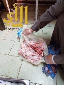 بلدية شرق حفر الباطن تتلف 43 كلجم من اللحوم والاسماك والدواجن