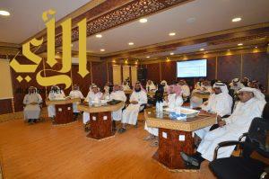 المجلس التعليمي بصبيا يناقش المباني الجديدة ونظام المقررات للمرحلة الثانوية