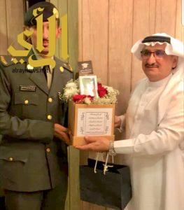 سعيد النقير يحتفل بتخرج ابنه عبدالله من الكلية الحربية