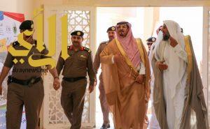 آل حامد يرعى حفل أسبوع المرور بمحافظة بلقرن