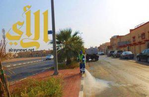 بلدية غرب الدمام تكثف أعمالها في رمضان المبارك