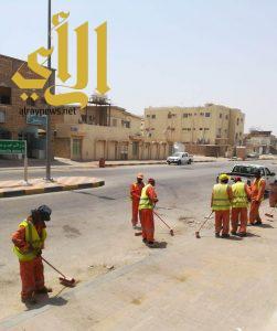 بلدية الخفجي تكثف حملاتها الرقابية استعدادا لاستقبال عيد الفطر المبارك