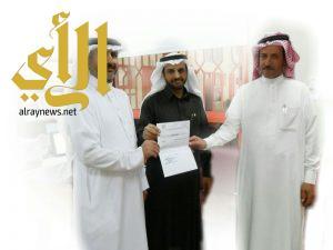 مكتب التعليم بأبها يكرم المعلمين بمدرسة عبدالله بن عباس