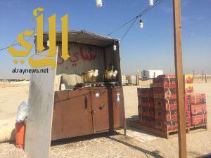 بلدية الخفجي تنفذ حملة على الباعة الجائلين المخالفين في الأماكن العامة