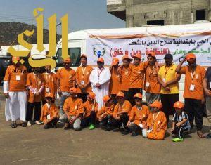 أمانة عسير والمجلس البلدي تواصلان حملة النظافة في يومها الثالث