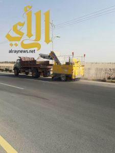 بلدية الذيبية تقوم بحملة ميدانية على المنشأة خلال شهر ذي القعدة 1438