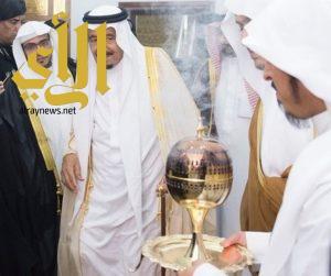 خادم الحرمين يعزي هاتفيا الشيخ صالح المغامسي