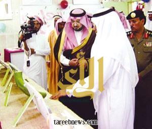 محافظ رجال ألمع يشهد حفل البيعة الخامسة