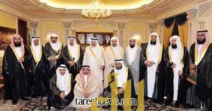 الأمير نايف استقبل أعضاء كرسي سموه لدراسات الأمر بالمعروف والنهي عن المنكر