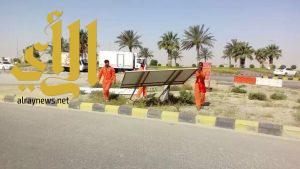 إزالة 750 لوحة إعلانية مخالفة بمحافظة الجبيل