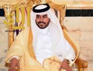 عايض بن سعيد آل حزام يحتفل بزواجه