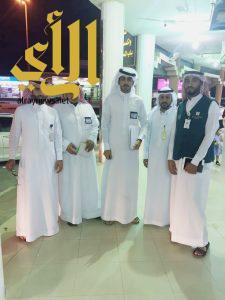 لجنة التوطين في الخفجي تواصل الحصر والمسح الميداني للمحلات التجارية