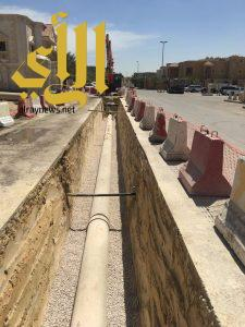 أمانة الشرقية: الانتهاء من 50 بالمئة من مشروع تصريف مياه الأمطار لأحياء الفاخرية وطيبة والندى