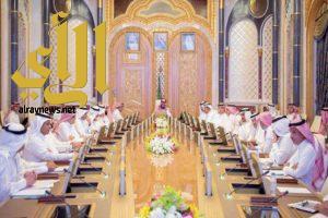 مجلس الشؤون الاقتصادية والتنمية يعقد اجتماعًا في قصر اليمامة