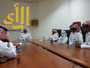 مجلس طلابي بكلية الآداب والعلوم بجامعة الأمير سطام بن عبدالعزيز