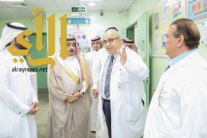 محافظ وادي الدواسر يُدشن عدد من المشاريع التحسينية بمستشفى المحافظة العام