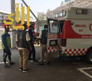 كشافة وادي الدواسر تباشر أعمالها في مستشفى منى الجسر