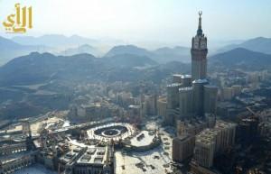 الطقس في مكة والمدينة والمشاعر: سماء صحو إلى غائمة جزئياً