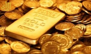 سعر الذهب في التعاملات الفورية ينخفض بنسبة 0.12%