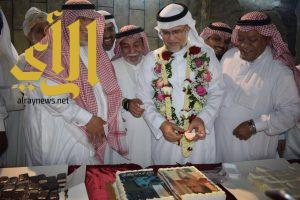 رواد وقادة كشافة مكة المكرمة يحتفلون بنبيل طيب