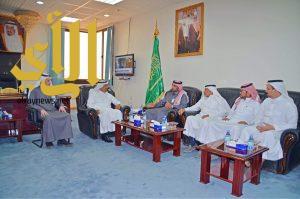 رئيس غرفة نجران يستقبل مدير هيئة المدن الصناعية بالمنطقة الجنوبية