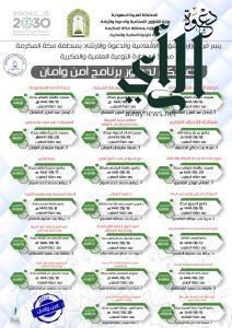 """اليوم.. ينطلق البرنامج العلمي """"أمن وأمان النسائي"""" الذي ينظمه فرع الشؤون الإسلامية بمكة"""