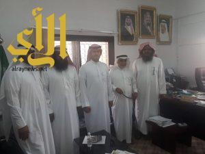 وفد من مؤسسة صالح الراجحي في زيارة لجمعية البر والخدمات الخيرية بالعلاية