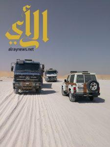 أمانة الشرقية : ضبط ١٥ شاحنة تعمل على نهل الرمال في فرسان الدمام