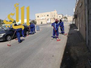 بلدية عنك: رفع 2000م3 أنقاض ومخلفات من عنك والجش والملاحة