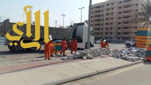 بلدية الخبر : ضبط 7 شاحنات محملة بمواد غذائية منتهية الصلاحية