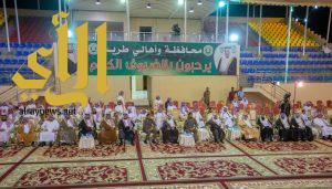 اللجنة المنظمة لاحتفال عيد الفطر لعام 1439هـ تجاهلت تكريم بلدية طريب والأهالي يتذمرون