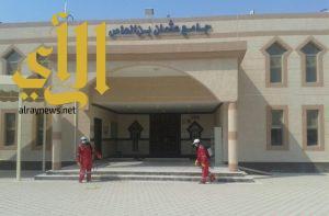 بلدية الخفجي تستعد لاستقبال عيد الأضحى المبارك