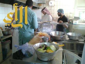 زيارة 20 منشأة من أصل 55 خلال أول يومين لحملة بلدية قرية العليا