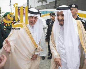 الملك سلمان يصل جدة قادماً من الرياض