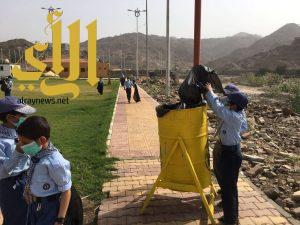 جمعية الكشافة تواصل تنفيذ المرحلة العاشرة من مشروع نظافة البيئة وحمايتها