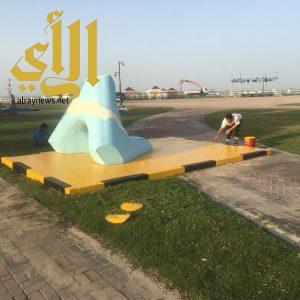 بلدية الجبيل: إعادة سفلتة وردم الحفر في بعض شوارع أحياء المحافظة