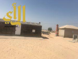 بلدية الجبيل تشعر 55 مبنى عشوائي بالإزالة لتعديهم على أراضي حكومية