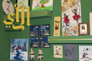 صور معرض مدائين الفن بمنطقة تبوك