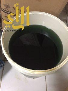 بلدية الخفجي تداهم مستودع لتخزين الأغذية بالتعاون مع حملة ( وطن بلا مخالف )