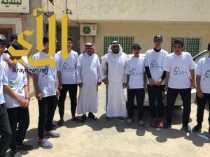 انطلاقة فعاليات فريق العمل التطوعي (سنابل) بمدرسة أبي موسى الأشعري