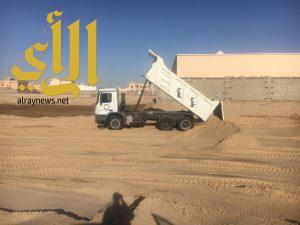 بلدية النعيرية: لجنة لحصر تجمعات المياه وردمها