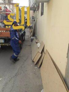 بلدية عنك تُزيل 700م3 أنقاض ونفايات خلال عيد الفطر المبارك