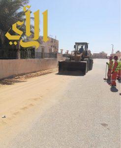 بلدية الخفجي ترفع أكثر من 3400 م3 نفايات وأنقاض من داخل الأحياء خلال أسبوع الماضي